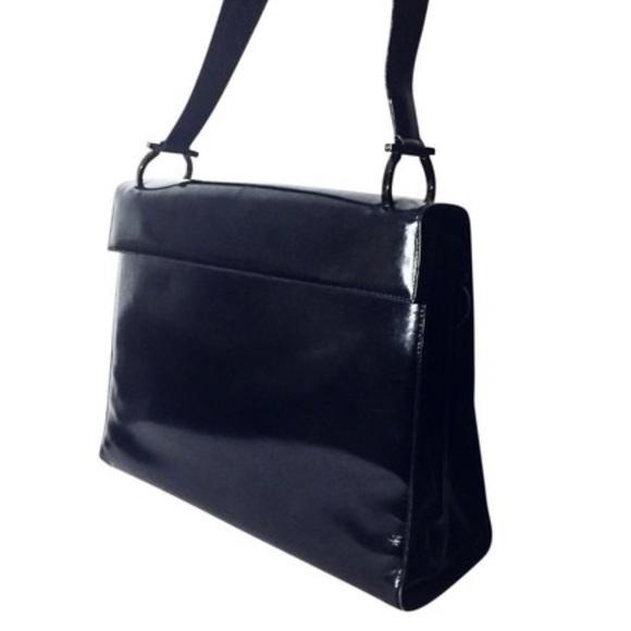 b416cccde2b Salvatore Ferragamo Bags   Black Patent Leather Handbag   Poshmark